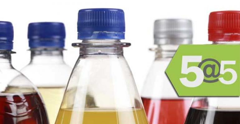 5@5: Soda taxes among 2016 political trends | Whole Foods looks at $1B debt plan