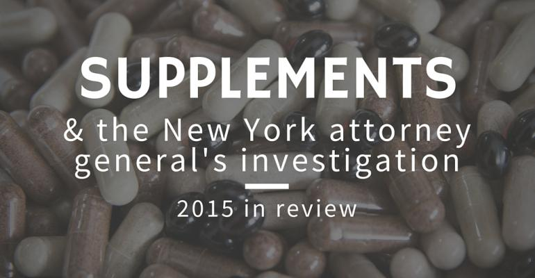 It came from New York: A look back at the biggest supplement story of 2015