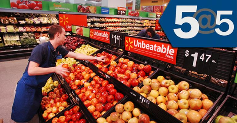 5@5: Walmart nixes Express concept | Hain feels the heat of natural & organic competition