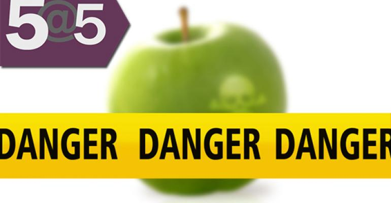 5@5: Nearly half of consumers increasingly worry about food safety | Maine GMO labeling law (still) under debate