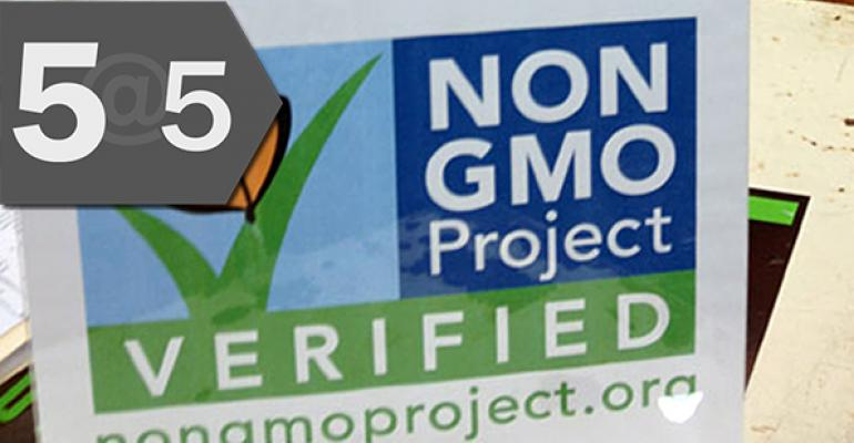 5@5: Seeds packages sport non-GMO Project Verified labels | FDA weighs safety of 7 food additives