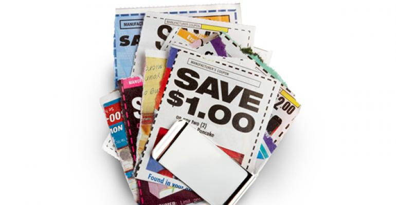 When trying to grow your brand, are coupons an option?