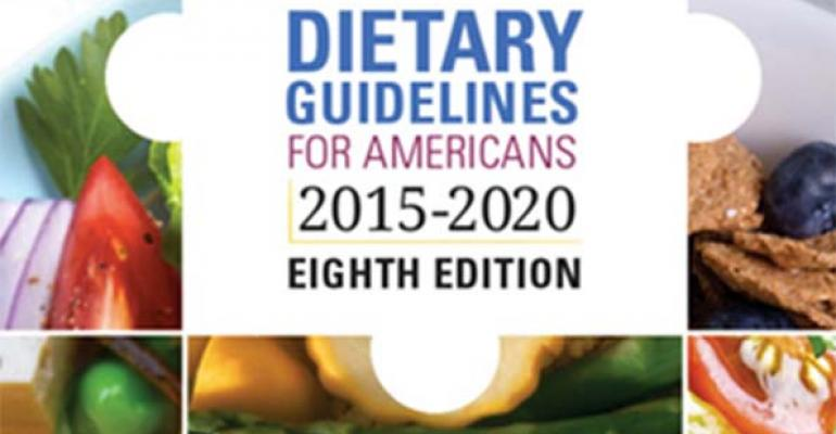 5@5: What you should know about the new U.S. Dietary Guidelines