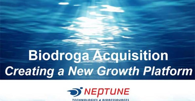 Neptune creates new growth platform with Biodroga acquisition