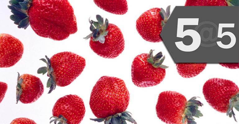 5@5: Oregon farmers push for local GMO regulation | Strawberries' pesticide problem