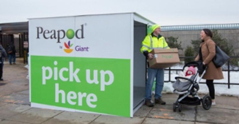 Peapod by Giant brings grocery pick-up to Washington D.C. metro stations