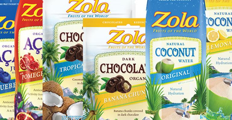 Illustration of Zola products