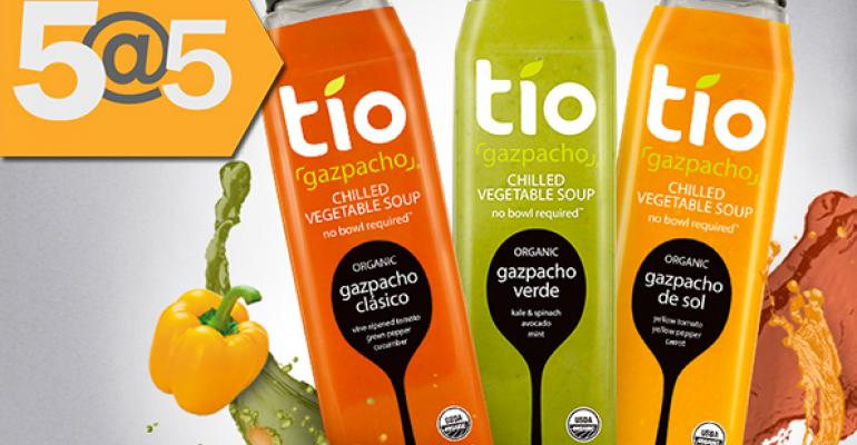 5@5: General Mills leads investment for soup maker Tio Gazpacho | Americans taking more meds—and more supplements