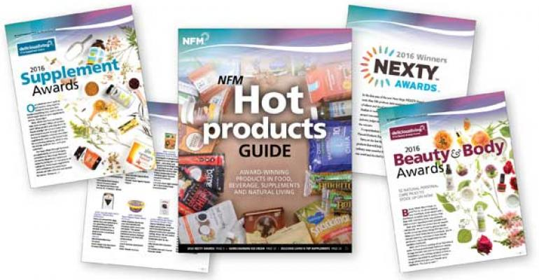 Get the NFM hot products guide to award-winning products [handbook]