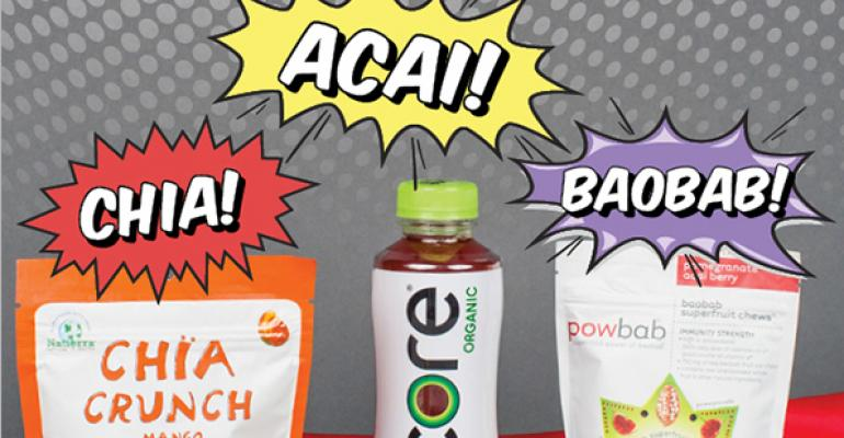 Superfoods keep gaining traction as more products pack 'em in
