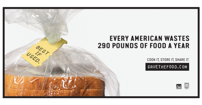 National campaign targets largest source of food waste—consumers