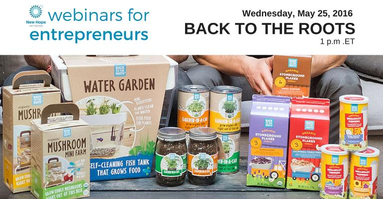 How Back to the Roots connects the dots between the garden and the kitchen [webinar replay]