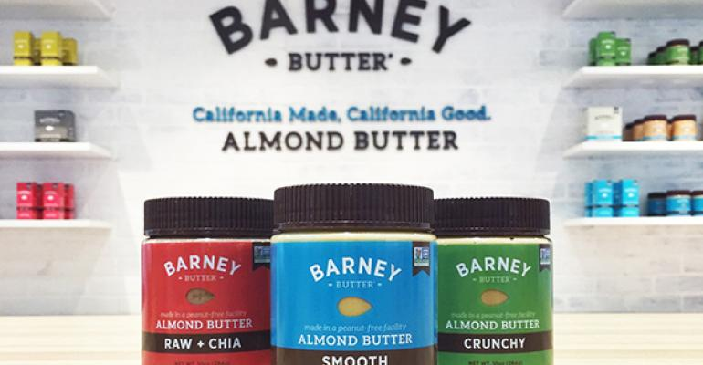 On-trend add-ins, simple packaging help Barney Butter harness the power of the mighty almond