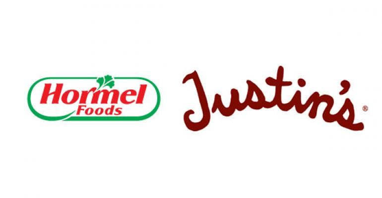 Hormel Foods acquires Justin's