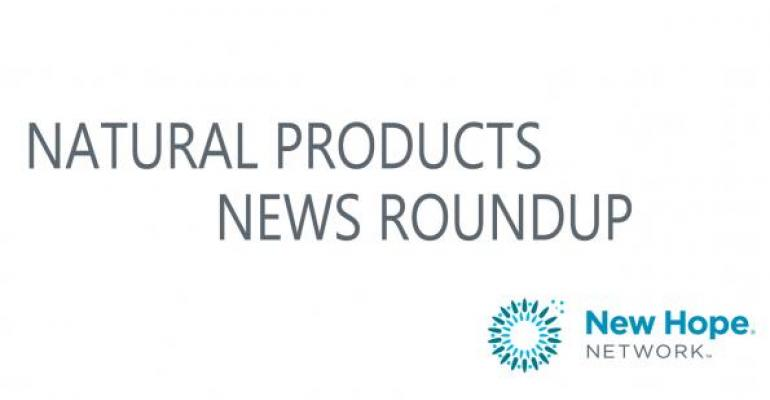 Natural product company news of the week