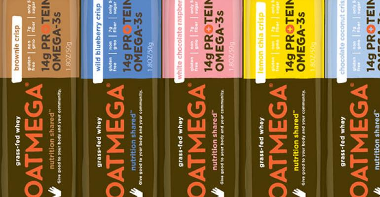 Oatmega protein snack bars from Boundless Nutrition