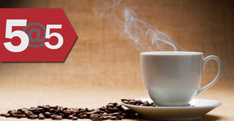 5@5: WHO no longer considers coffee a potential carcinogen | Food boards v. FOIA