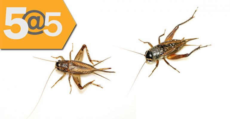 5@5: Are chefs the key to widespread insect protein adoption? | 'Clean 15' sparks controversy at co-op