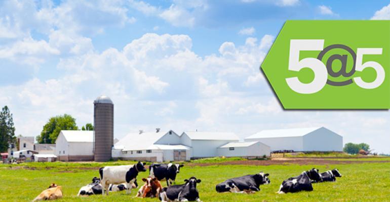 5@5: General Mills+Organic Valley boost organic dairy | FDA too slow on food recalls, says inspector general