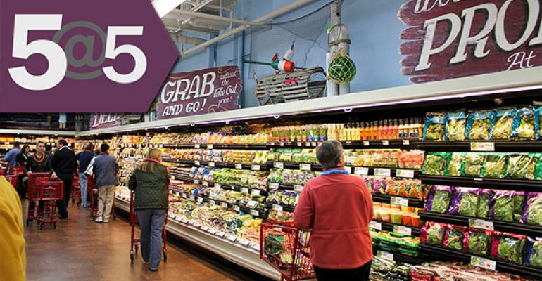 5@5: Trader Joe's climate woes | Perdue overhauls animal welfare policy