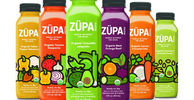 Sonoma Brands launches Zupa Noma chilled soups
