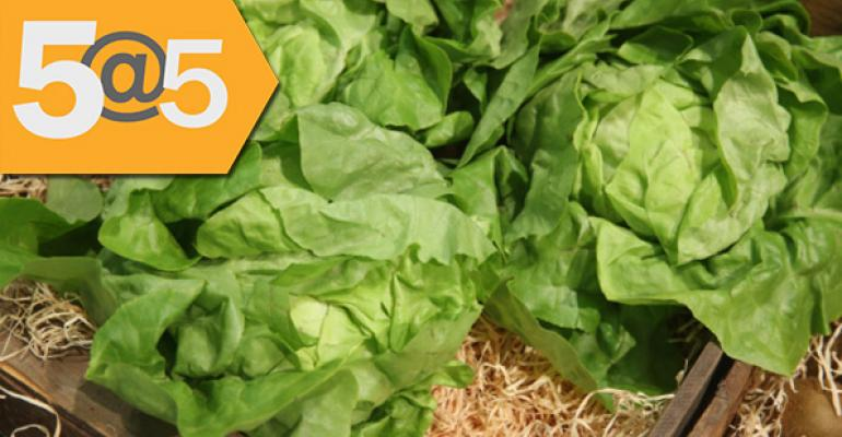5@5: Packaged salads lead Americans to eat more greens | Food deals keep flowing
