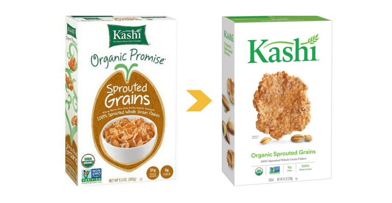 Kashi new packaging 2016