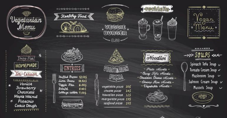 menu labeling