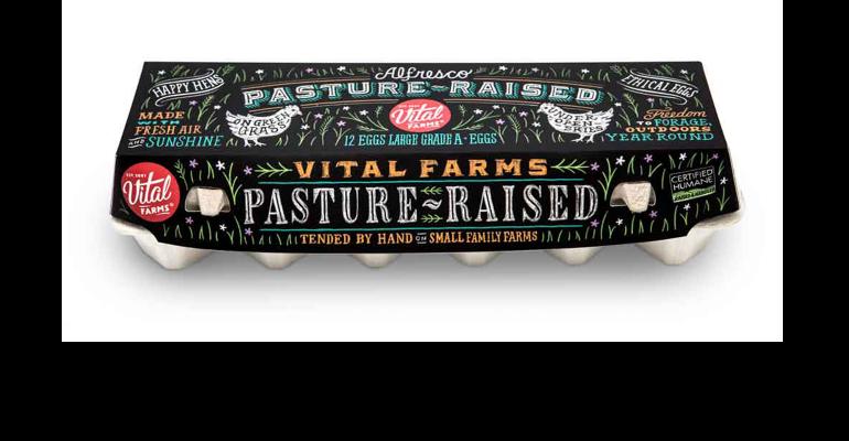 Vital Farms carton of eggs