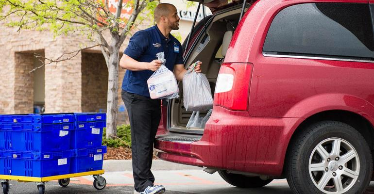 click and collect grocery pickup