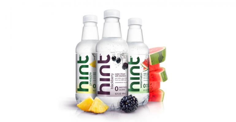 Whole30 Hint water