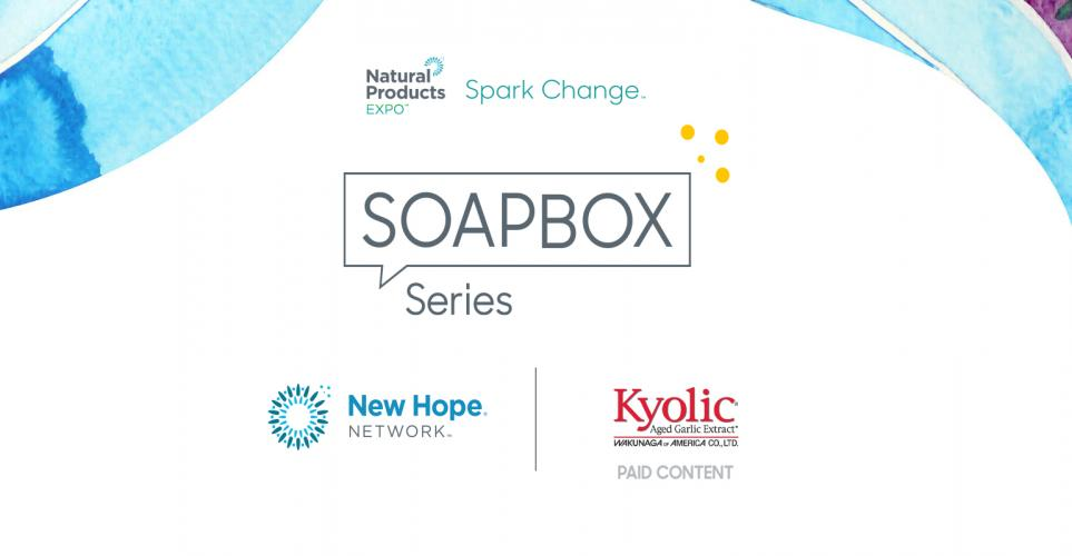 Spark Change Soapbox Series Podcast: Supplement science real talk with Wakunaga of America