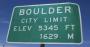 Boulder City Limits