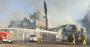 Aloha Bay building on fire
