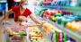 coronavirus shopper covid-19 grocery store