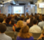 Crowd at the Good Food Accelerator Application Celebration