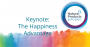 Expo East keynote: Happiness comes before success, not after