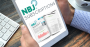 Tablet reading NBJ subscriptions