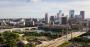 The Twin Cities skyline