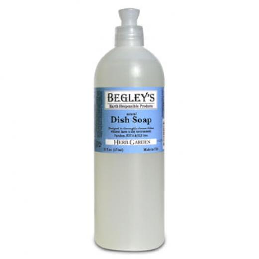 Begley's Aroma-Therapeutic Dish Soap Herb Garden