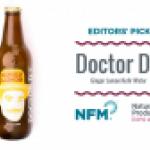 Doctor D's Kefir Water Ginger Lemon