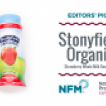 Stonyfield Organic Strawberry Smoothie Whole Milk