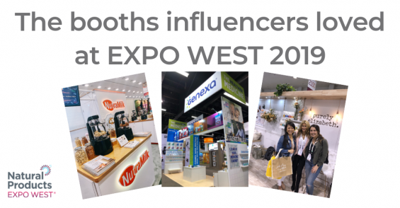 Influencers' favorite booths at Expo West 2019