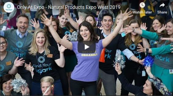 Only At Expo—The Natural Products Expo West 2019 music video