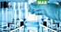 Science lab beakers