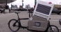 Cargo bikes serving Brooklyn Whole Foods have electic assist and solar panels