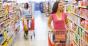Women grocery shopping