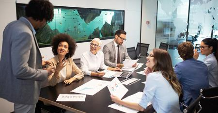 Board rooms are becoming less white, less male dominated