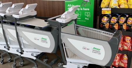 Instacart picks up smart-grocery-cart maker Caper AI