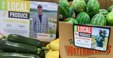 Schnuck Markets goes bigger with local produce through marketing app
